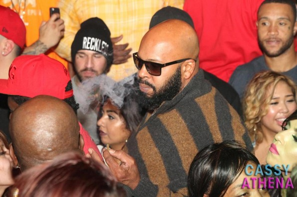 Suge Knight smokes weed-the game birthday party tru hollywood-the jasmine brand