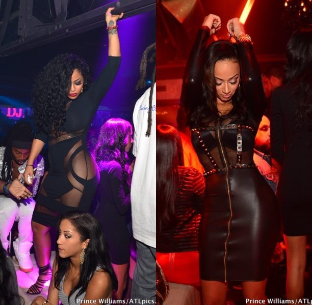 Basketball Wives LA's Draya Parties in the A With Tae Hackard + More Mysterious Hand Holding With Keyshia Cole & ATL Promotor