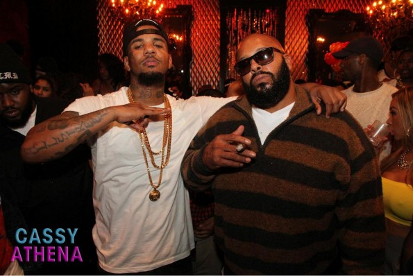 The Game and Suge Knight-the game birthday party tru hollywood-the jasmine brand