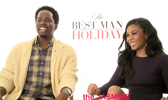 [Interview] 'Best Man Holiday' Actors Harold Perrineau & Regina Hall Explain Their Hardest Scenes to Film: 'It was REALLY hurtful.'