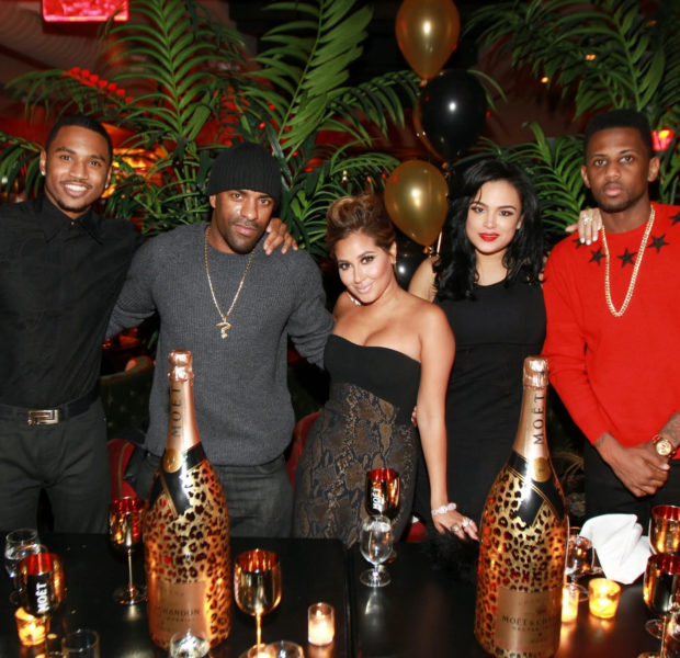 [Photos] Fabolous & Trey Songz Celebrate Birthday Dinner In NYC