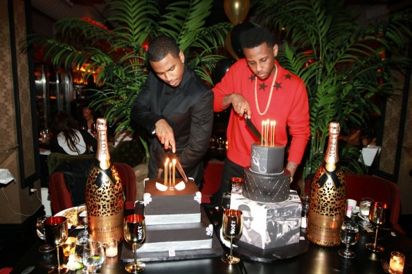 Trey Songz-Fabolous-birthday dinner 2013-the jasmine brand