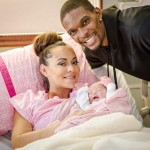 adrienne bosh-christopher bosh-welcome baby girl-the jasmine brand
