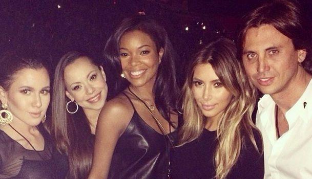 [Photos] Kanye West's Miami Stop Brings Out Gabrielle Union, Ochocinco, Common, Scottie Pippen More Famous Faces
