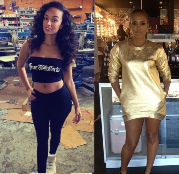 basketball wives-draya michele-sundy carter-club fight-the jasmine brand