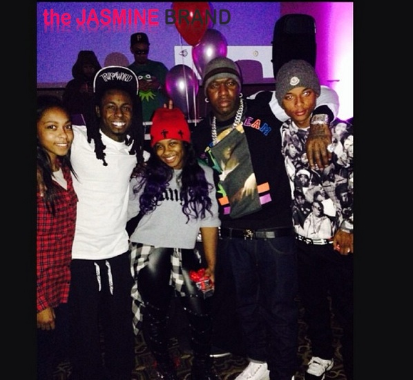 birdman daughter-lil wayne daughter-reginae 15th birthday party-the jasmine brand