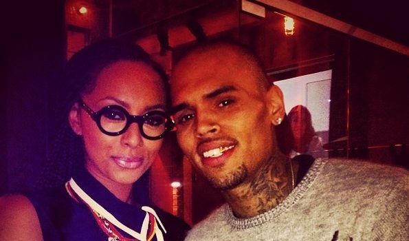 Chris Brown Released From Rehab, Makes 1st Public Appearance At Jhene Aiko Release Party