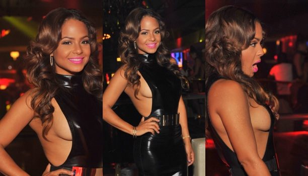 Serving Celeb Side Boob: Christina Milian Caught Partying in ATL