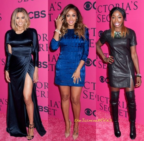 Girls Night Out! Ciara, Lala Anthony & Estelle Hit Victoria's Secret Fashion Show + Lala Lands Another Hollywood Role