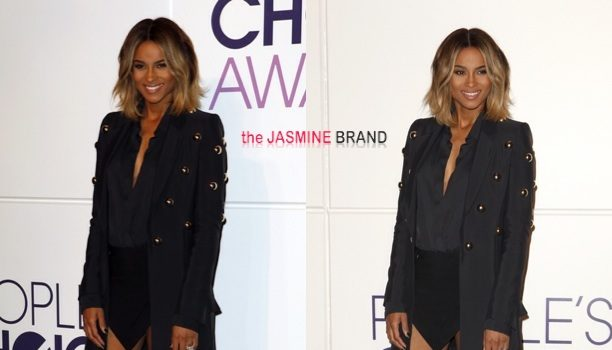 Ovary Hustlin': Pregnancy Speculation Continues As Ciara Hides Her Belly at 'Peoples Choice Awards' Press Conference