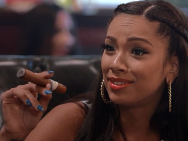 [AUDIO] Love & Hip Hop's Erica Mena Explains Why Being In A Lesbian Relationship Is Easier + New Beef With K. Michelle 'She's Full Of Her Own Sh**!'