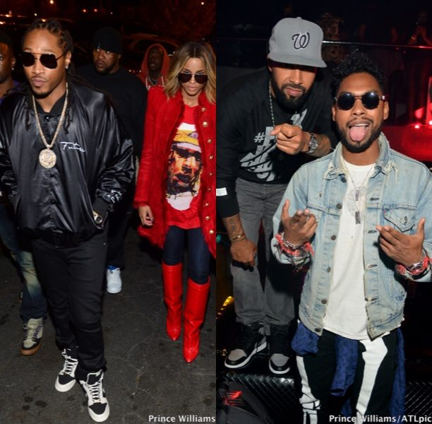 [Photos] After the Show, It's the After Party! Ciara & Future, Miguel And Drake Party At ATL's Reign