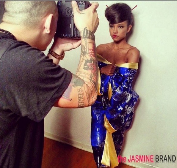geisha girl-karrueche-editorial photo shoot 2013-the jasmine brand
