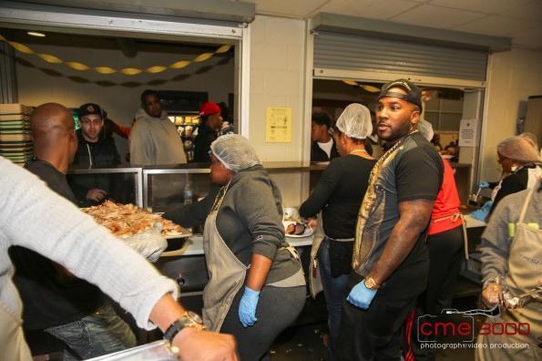 i-young jeezy-No Reservations Needed Food Drive-Atlanta Mission 2013-the jasmine brand