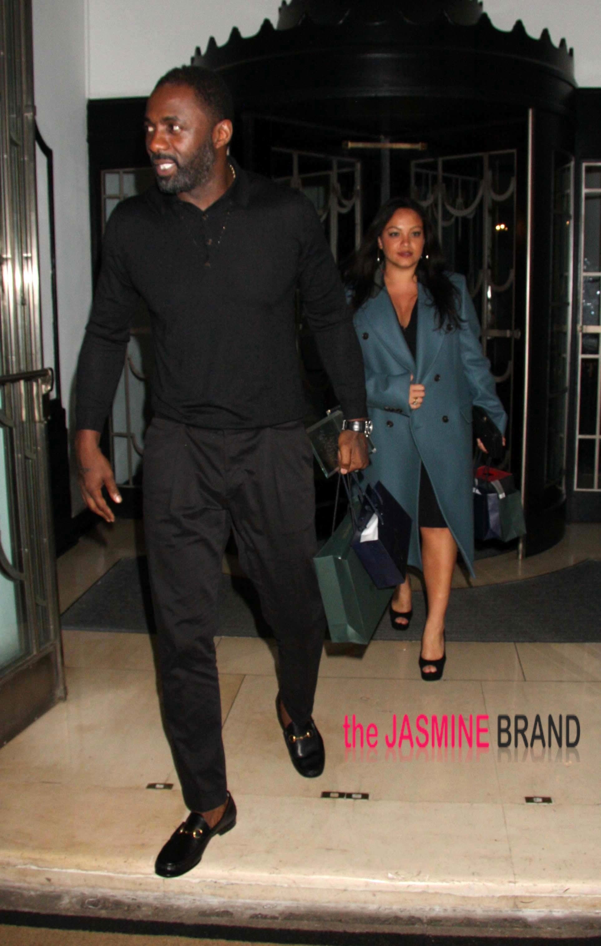 the gallery for gt idris elba girlfriend naiyana garth