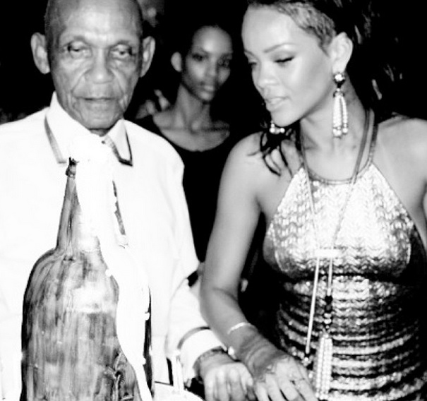 ii-rihanna-throws grandfather 85th birthday-the jasmine brand