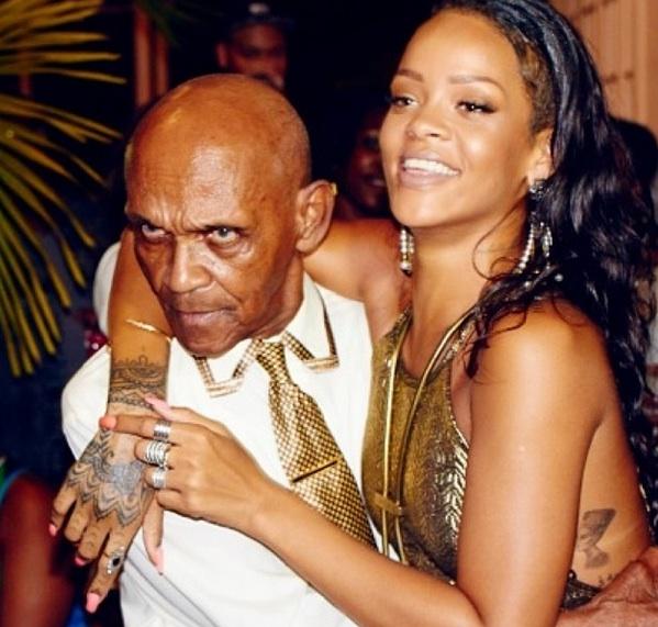 iii-rihanna-throws grandfather 85th birthday-the jasmine brand
