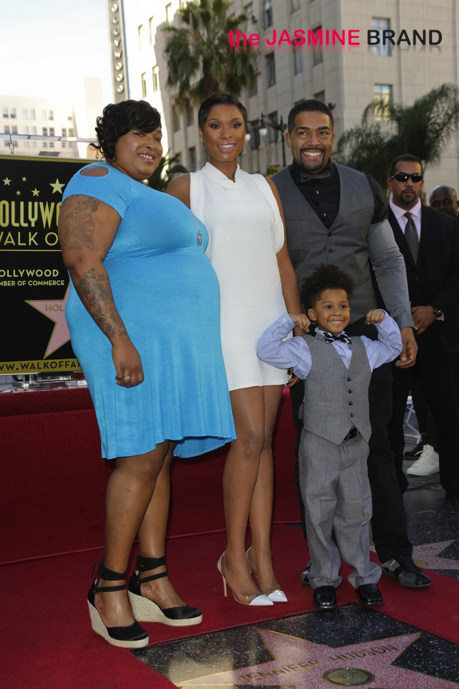 Jennifer Hudson Honored with a Star on the Hollywood Walk of Fame on November 13, 2013