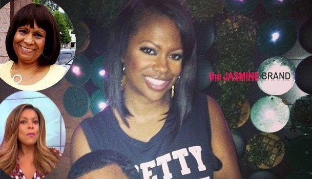Kandi Burruss Says Mama Joyce Hates Fiancee Because Of Wendy Williams