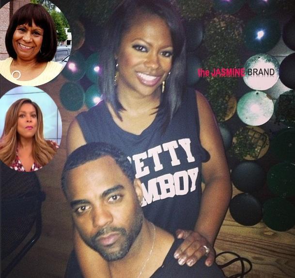 Kandi Burruss Says Mama Joyce Hates Fiancee Because Of Wendy Williams
