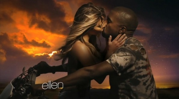 kanye west-kim kardashian-bound 2 video-the jasmine brand