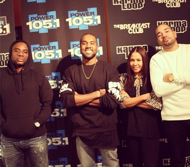 Kanye West Visits The Breakfast Club, Goes Toe-To-Toe With Charlamagne the God: 'I want you to tell me EVERYTHING that I'm doing wrong!'