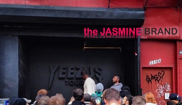 [Photos] Kanye West Brings Yeezus Tour 'Pop Up' Store to New York