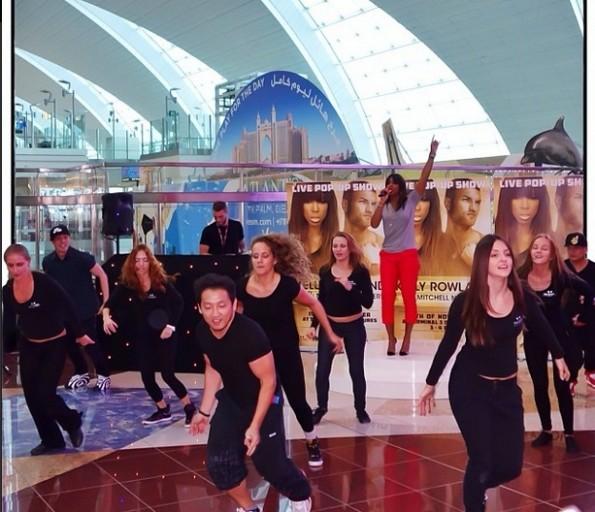 kelly rowland-dubai air show-airport-the jasmine brand