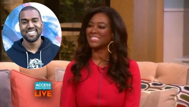 [WATCH] Kenya Moore Confesses Kanye West Tried To Date Her Before Kim Kardashian