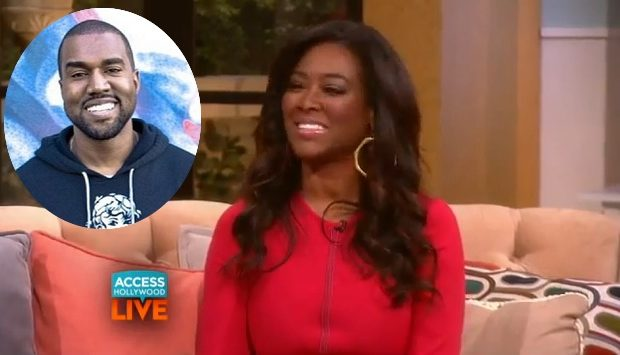 [WATCH] Kenya Moore Confesses Kanye West Tried To Date Her Before Kim Kardashian