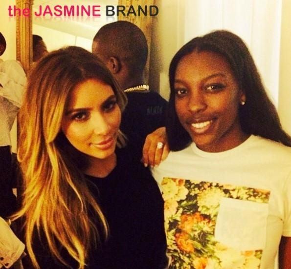 kim kardashian-ochocincos daughter-kanye west yeezus tour-miami-the jasmine brand
