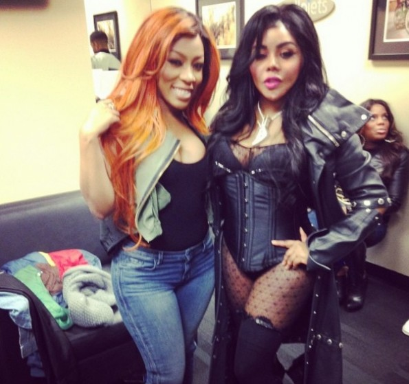 kmichelle-lil kim-power 105-powerhouse 2013-the jasmine brand