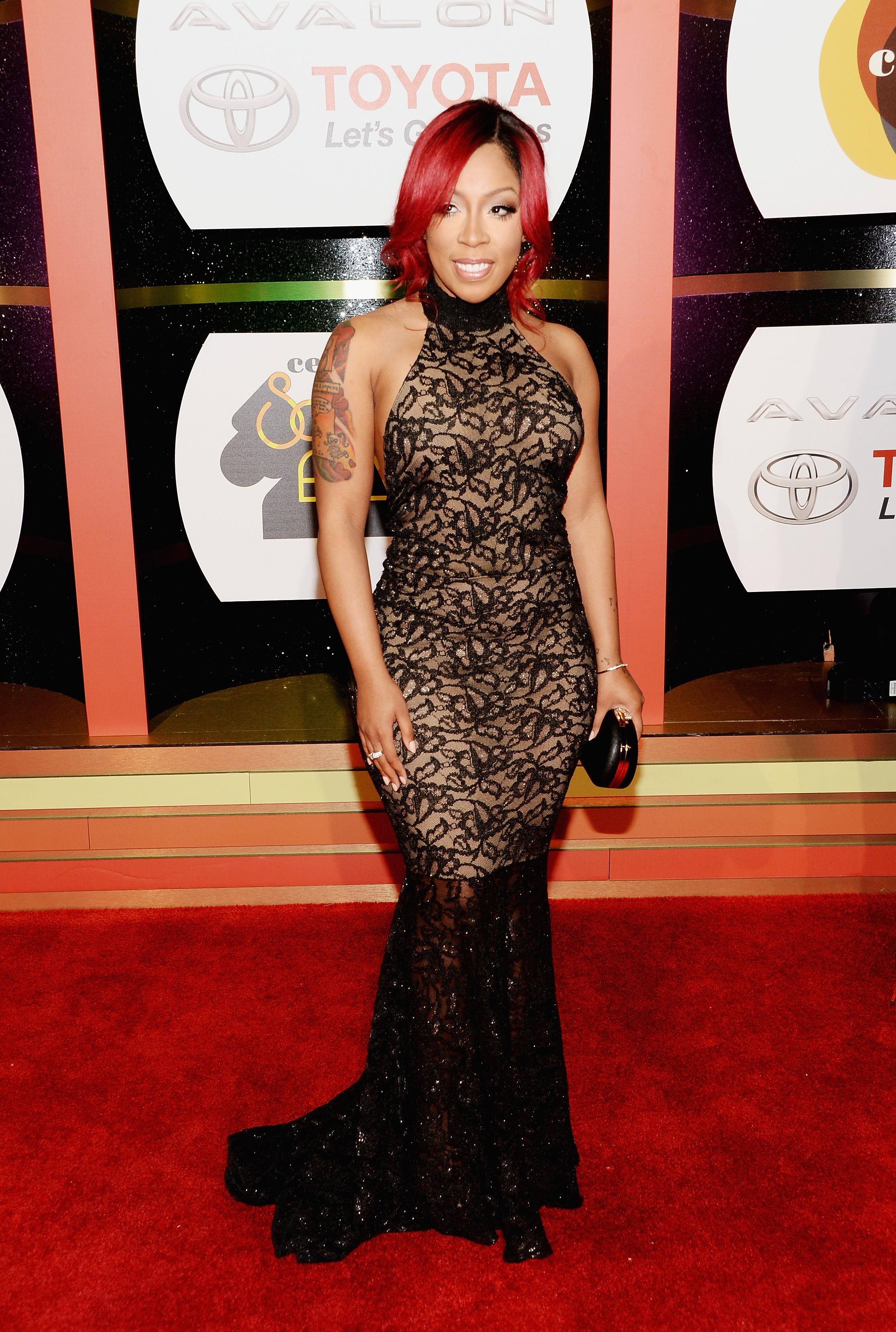 [Photos] Tamar Braxton, K.Michelle, Keshia Knight Pulliam ... K Michelle 2013
