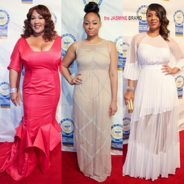 kym whitley-raven symone-lisa raye-naacp theater awards 2013-the jasmine brand