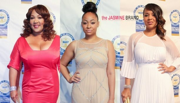 [Photos] Raven-Symoné, Lisa Raye & More of Black Hollywood's Elite Get Glam For 'NAACP Theater' Awards
