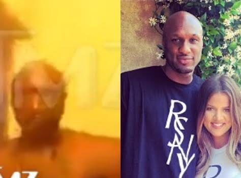 Lamar Odom Gets Chest Naked, High As A Kite & Becomes A Bathroom Rapper