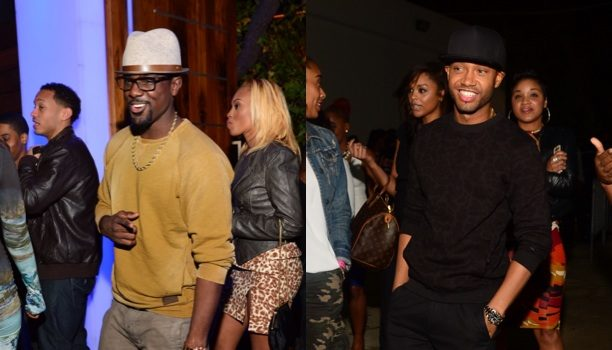 Spotted. Stalked. Scene. E!'s Terrence J & Actor Lance Gross Party in the A