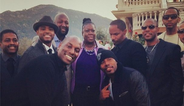 [Photos] Jamie Foxx Hosts Hollywood Charity Event For Trayvon Martin's Family