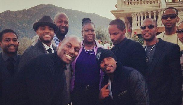 [Photos] Jamie Foxx Hosts Hollywood Charity Event For Trayvon Martin's Family