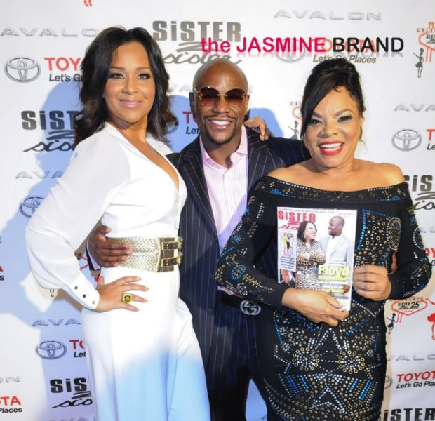 25 Years In the Print Game Never Looked So Good: Lisa Raye, Floyd Mayweather Jr & Friends Celebrate 'Sister 2 Sister' Magazine