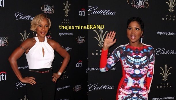 [VIDEO & Photos] Mary J. Blige, Toni Braxton & Babyface Get Fly & Belt Out Christmas Carols at LA's #TheGrove