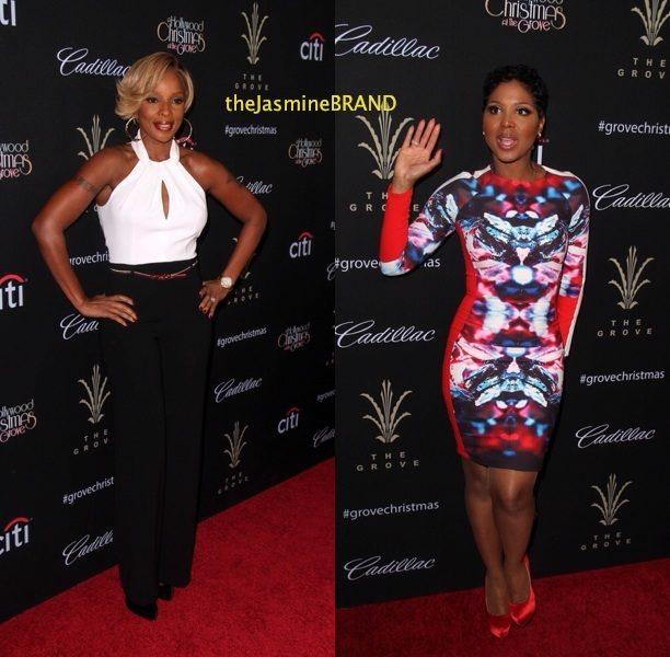 [VIDEO & Photos] Mary J. Blige, Toni Braxton & Babyface Get Fly & Belt Out Christmas Carols at LA's #TheGrove