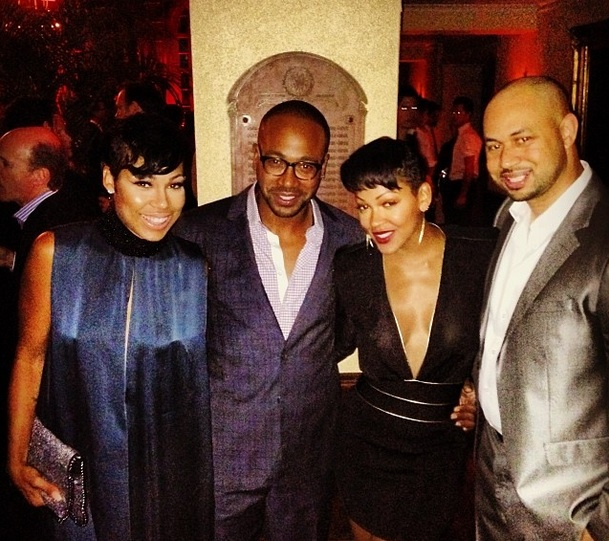 Werk Hard, Play Hard. Scandal Cast Gets Fly for Hollywood Party With Meagan Good Michael B Jordan