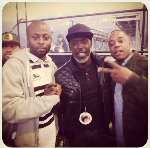 michael k williams-kanye west yeezus tour-nyc-the jasmine brand