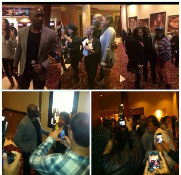 [VIDEO] Morris Chestnut Pops Up at LA & ATL Movie Theaters + 'The Best Man Holiday' Wins Box Office