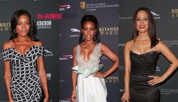 Red Carpet Stalking: Kelly Rowland, Idris Elba & Naomi Ellis At BAFTA Awards + E!'s Terrence J & Trey Songz Party in Hollywood