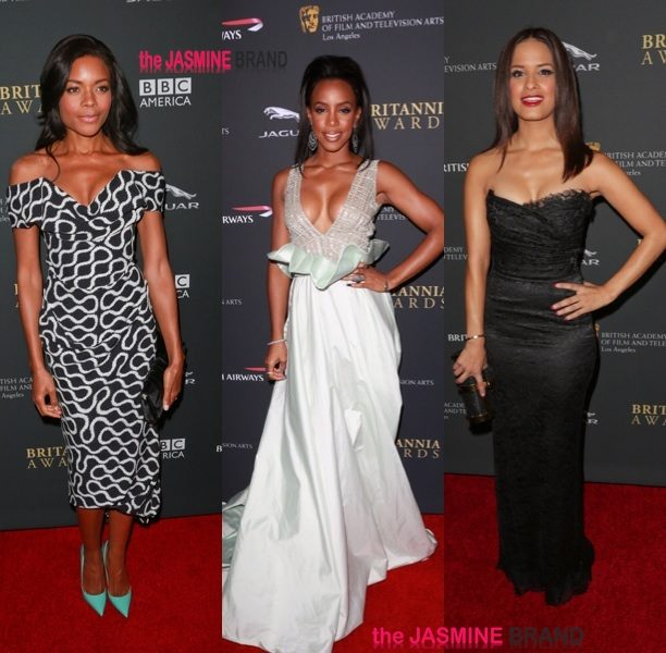 Red Carpet Stalking: Kelly Rowland, Idris Elba & Naomi Ellis At BAFTA Awards + E!'s Terrence J & Trey Songz Party in Hollywood