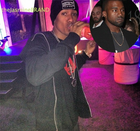 nick cannon-kanye west not a genius-the jasmine brand