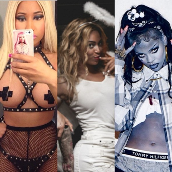 Celebrity Halloween Left Overs: Beyonce, Rihanna, Nicki Minaj, Heidi Klum & More