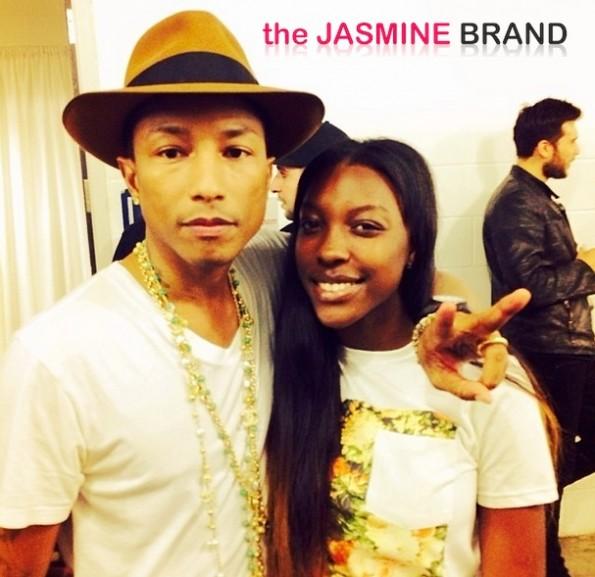 pharrell-ochocinco daughter-yeezus tour miami-the jasmine brand